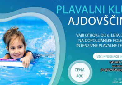 NOVO! Poletni plavalni tečaji